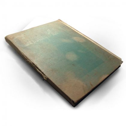 The book in unrestored condition